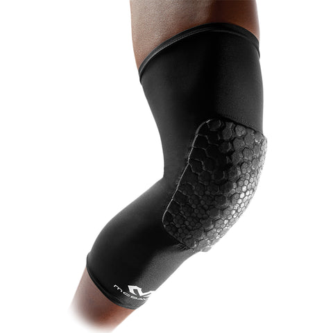 MCDAVID USA 6446X MEDIUM BLACK HEX TUF KNEE/LEG SLEEVES / PAIR