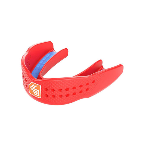SHOCK DOCTOR ADULT SUPERFIT ALL SPORT RED MOUTHGUARD