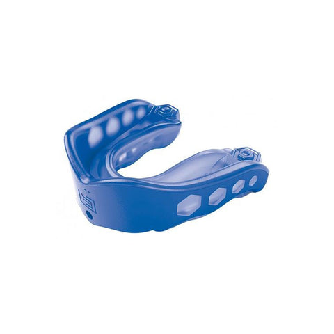 SHOCK DOCTOR ADULT GEL MAX BLUE CONVERTIBLE MOUTHGUARD