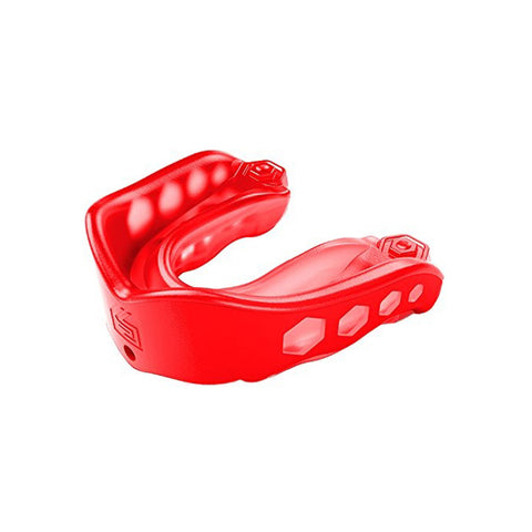 SHOCK DOCTOR ADULT GEL MAX RED CONVERTIBLE MOUTHGUARD