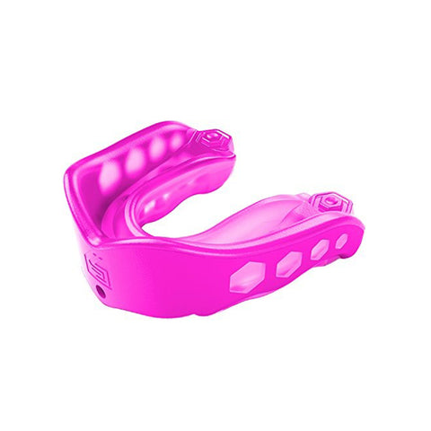 SHOCK DOCTOR ADULT GEL MAX PINK CONVERTIBLE MOUTHGUARD