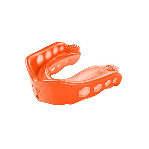 SHOCK DOCTOR ADULT GEL MAX ORANGE CONVERTIBLE MOUTHGUARD