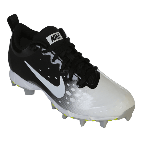 NIKE WOMEN'S HYPERDIAMOND 2 KEYSTONE BLACK/WHITE BASEBALL CLEAT
