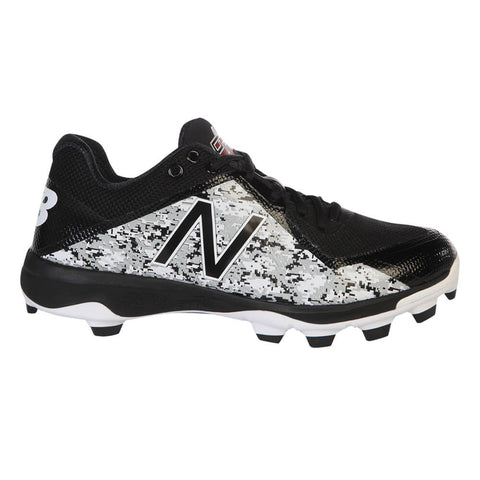 NEW BALANCE MEN'S PL4040P4 LOW BLACK/CAMOUFLAGE DP BASEBALL CLEAT