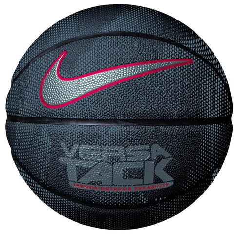 NIKE VERSA TACK BLACK/RED SIZE 7 BASKETBALL