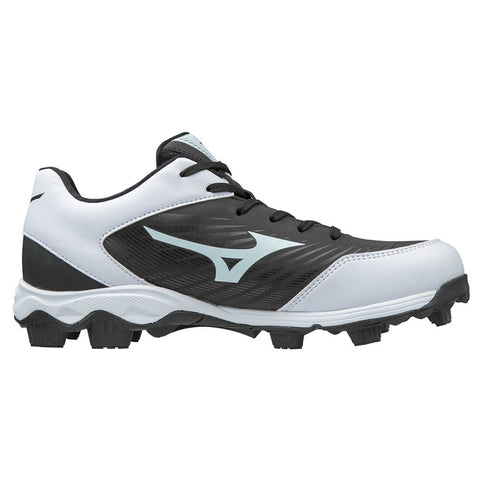 MIZUNO MEN'S 9 SPIKE ADVANCED FRANCHISE 9 BLACK/WHITE BASEBALL CLEAT
