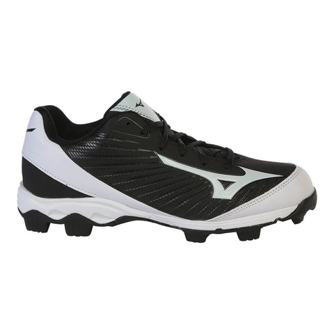 MIZUNO WOMEN'S 9 SPIKE ADVANCED FINCH FRANCHISE 7 BASEBALL CLEAT BLACK/WHITE