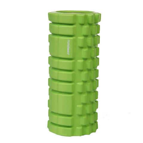 ZENZATION 13 INCH GREEN TEXTURED FOAM ROLLER