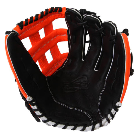 RAWLINGS RCS SERIES 13 ORANGE H-WEB REG SOFTBALL GLOVE