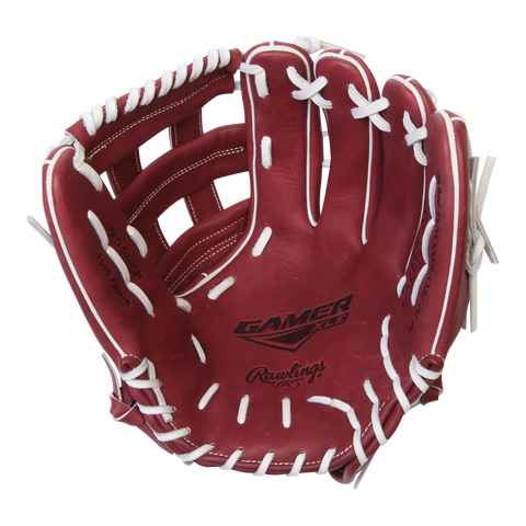 RAWLINGS GAMER XLE SHE/WHT H-WEB 13''