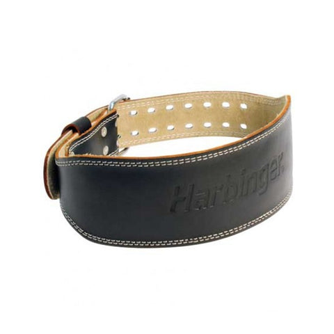 HARBINGER 4'' PADDED LEATHER BELT MED