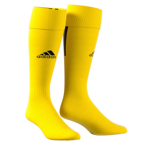 ADIDAS SANTOS 18 YELLOW LARGE SOCCER SOCK (9-10.5)