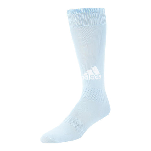 ADIDAS SANTOS 18 CLEAR BLUE EXTRA SMALL SOCCER SOCK (3-4.5)