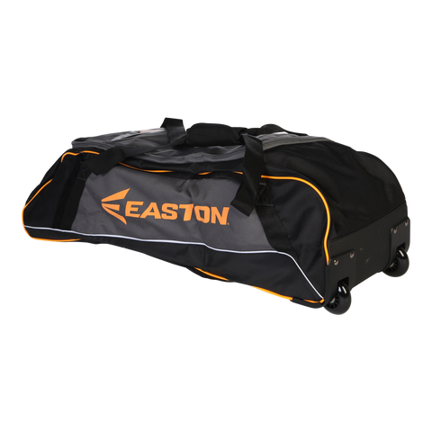 EASTON SPORTS E300W EQT BAG W/WHEELS BLK/ORG
