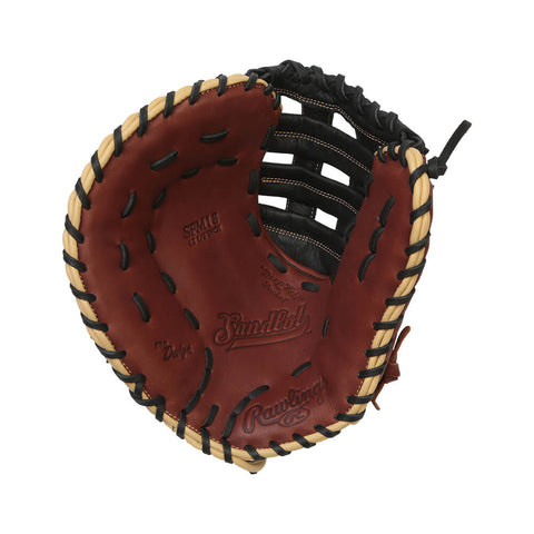 RAWLINGS SANDLOT 12.5 INCH 1ST BASE GLOVE LEFT HAND THROW