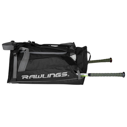 RAWLINGS HYBRID BACKPACK/DUFFEL PLAYERS BAG BLACK