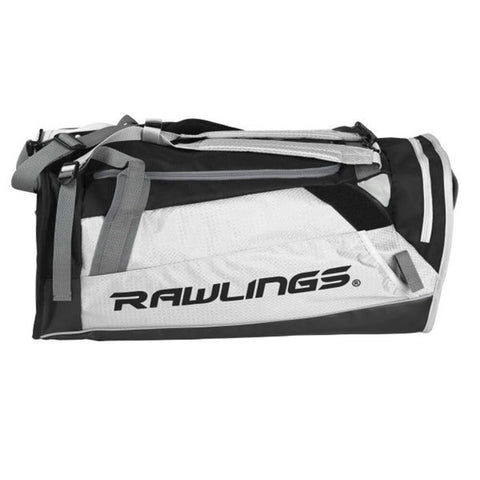 RAWLINGS HYBRID BACKPACK/DUFFEL PLAYERS BAG WHITE