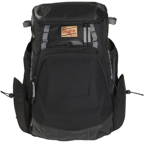 RAWLINGS GOLD GLOVE SERIES BACKPACK BLACK/GRAY