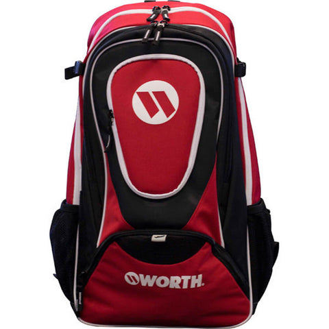 WORTH TEAM BACKPACK BLACK/RED