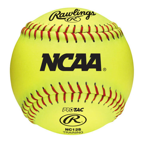 RAWLINGS 12 INCH  INDOOR TRAINING SOFTBALL RIF 1