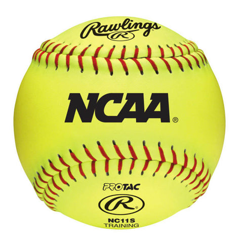 RAWLINGS NCAA 11 INCH SOFT TRAINING SOFTBALL