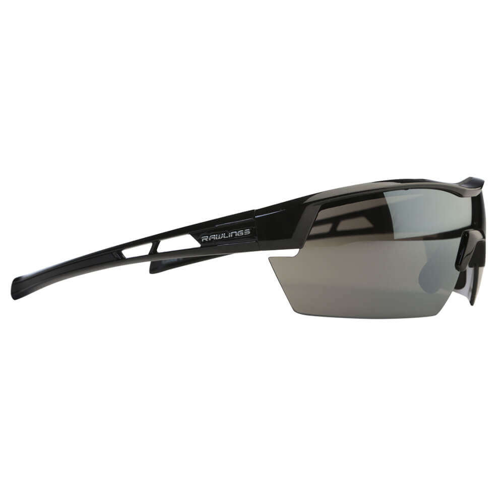 c037ffeda6 RAWLINGS SENIOR R-34 BASEBALL SUNGLASSES BLACK – National Sports