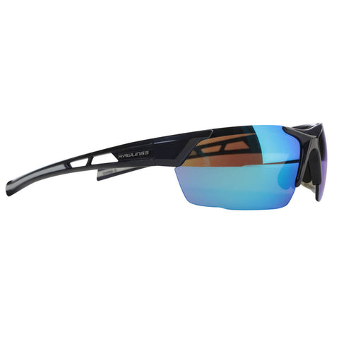 RAWLINGS SENIOR R-33 BASEBALL SUNGLASSES NAVY/SMOKE