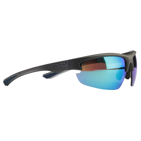 RAWLINGS SENIOR R-31 BASEBALL SUNGLASSES GRAPHITE/BLUE