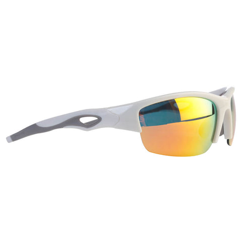 455a493276 RAWLINGS SENIOR R-32 BASEBALL SUNGLASSES WHITE ORANGE
