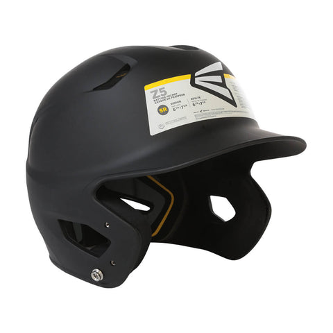 EASTON SR Z5 GRIP SOLID BATTING HELMET MATTE BLACK