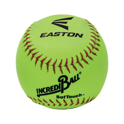 EASTON INCREDIBALL 10 INCH NEON SOFT TRAINING SOFTBALL