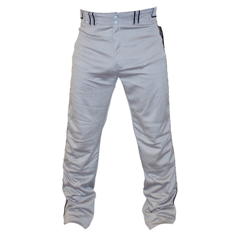 LOUISVILLE LS PIPED GRAY/BLACK BASEBALL PANT