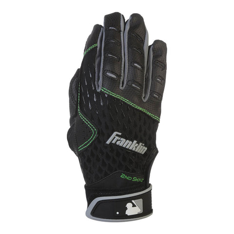 FRANKLIN YOUTH BATTING G 2ND SKINZ BLACK