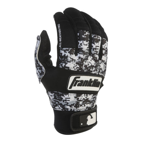 FRANKLIN SENIOR ALL WEATHER PRO DIGI BATTING GLOVE
