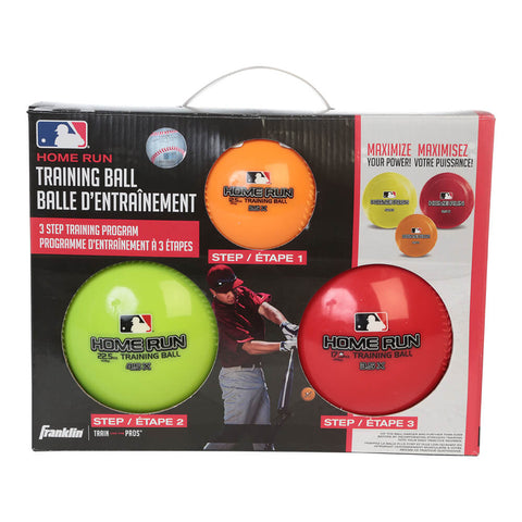 FRANKLIN MLB 3 BALL HOMERUN TRAINING SET