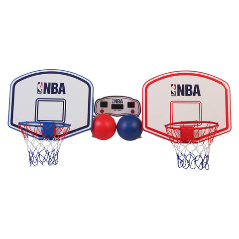 NBA TOY BASKETBALL HOOP SET WITH WIRELESS SCORE CLOCK