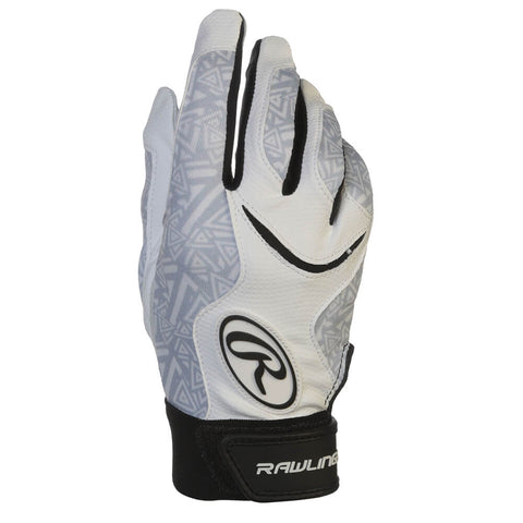 RAWLINGS WOMEN'S STORM FASTPITCH BATTING GLOVE BLACK