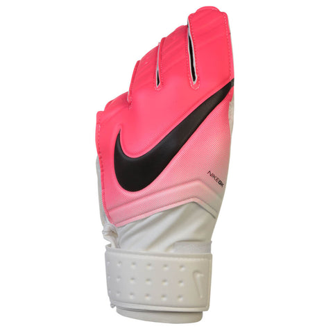 NIKE GK MATCH GOAL GLOVES WHITE/PINK