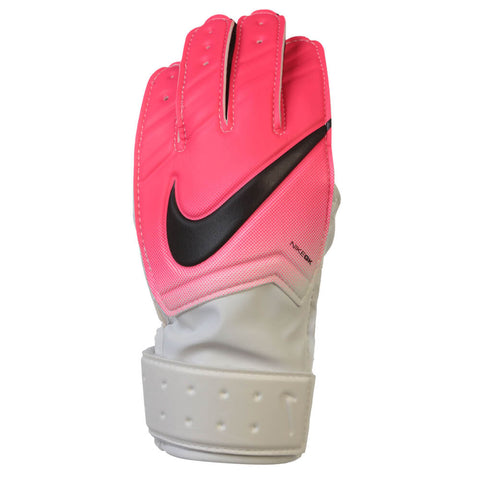 NIKE JR GK MATCH GOAL GLOVES WHITE/PINK