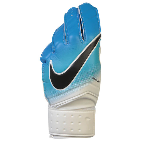 NIKE GK MATCH GOAL GLOVES WHITE/BLUE