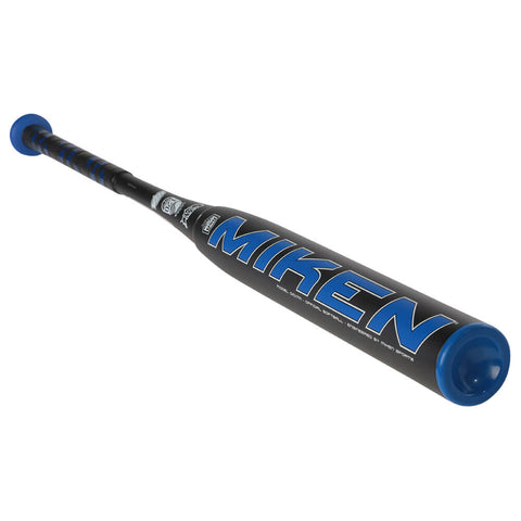 MIKEN MANIAC BLUE 27OZ DUAL STAMP SLOWPITCH BAT