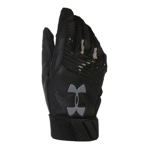 UNDER ARMOUR YOUTH BATTING GLOVE BH34 HARPER HUSTLE BLACK