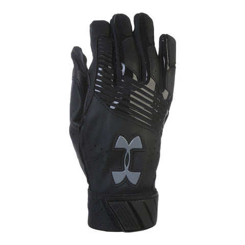 UNDER ARMOUR YOUTH BATTING GLOVE CLEAN-UP VI BLACK