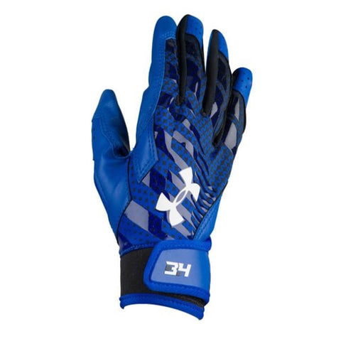 UNDER ARMOUR YOUTH BATTING GLOVE BH34 HARPER HUSTLE ROYAL
