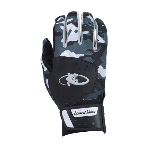 LIZARD SKINS YOUTH KOMODO BLACK CAMO BATTING GLOVE