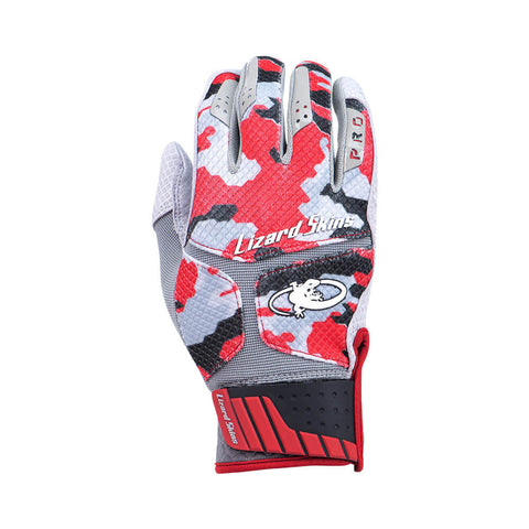 LIZARD SKINS KOMODO PRO WILDFIRE CAMO BATTING GLOVE
