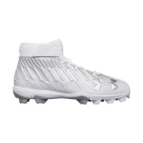 UNDER ARMOUR MEN'S HARPER 2 RM WHITE /  METALLIC BASEBALL CLEAT