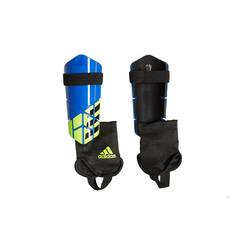 ADIDAS X CLUB FOOBLU/BLACK/SYELLO SOCCER SHINGUARD