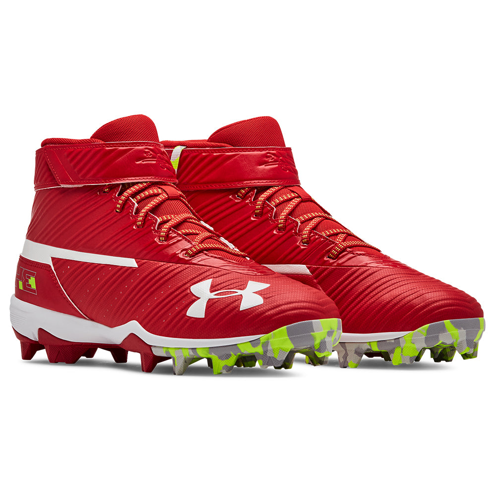 UNDER ARMOUR MEN'S HARPER 3 MID RM RED