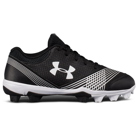 UNDER ARMOUR WOMEN'S GLYDE RM BLACK/BLACK BASEBALL CLEAT